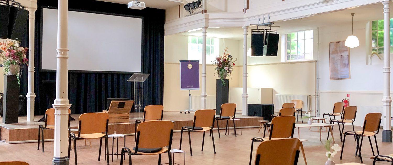 Kerkzaal anderhalvemeter theater